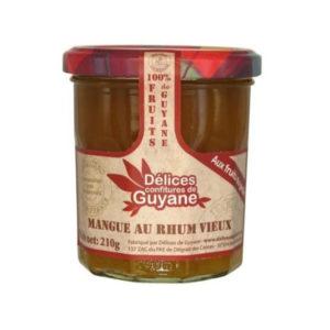 Confiture Mangue Rhum Vieux Delices De Guyane