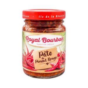 pate de piment rouge royal bourbon 90 g x 12